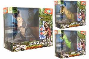 ANIMALI DINOSAURO T REX CAMMINA LUCI SUONI 3 Colori - Globo (39024)