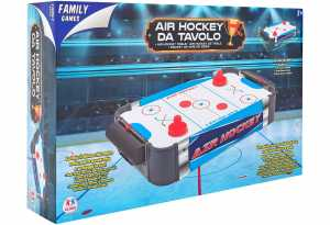 Globo- Gioco Hockey Tavolo In Legno, Multicolore, GLO1209