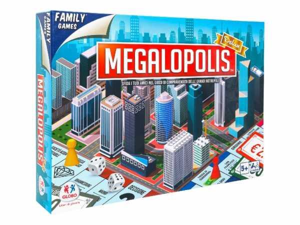 Globo, Versión Lujo Del Juego Junta De Metropol Gioco Megalopolis Deluxe Giochi Da Tavolo Classici Per Tutti, Multicolore, 8014966403562