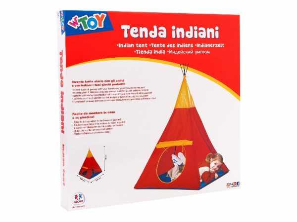Globo - Tenda Da Campeggio Indiana Cm100x100x135 (38584), Multicolore (1)