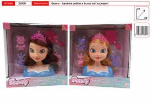 Bambola/e TESTA PARRUCCHIERA - Toys Garden (26850)
