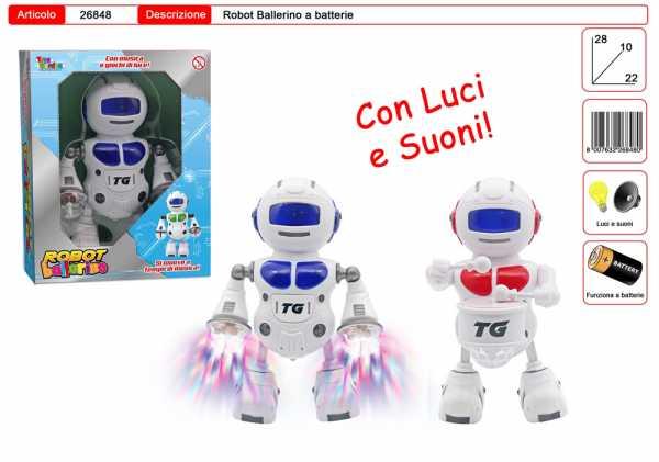 ROBOT BALLERINO BATTERIA CM 26 - Toys Garden (26848)