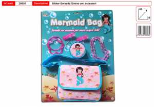 TOYS GARDEN SRL 26853 Mermaid Bag