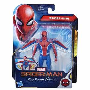Hasbro Marvel Spider-Man- Far From Home Under Cover Action Figure Da 15 Cm, Multicolore, E4122ES0