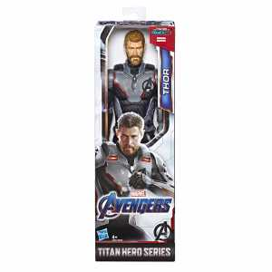 Marvel Avengers: Endgame - Thor Titan Hero Compatibile Con Power FX (Action Figure Da 30 Cm, Power FX Non Incluso)
