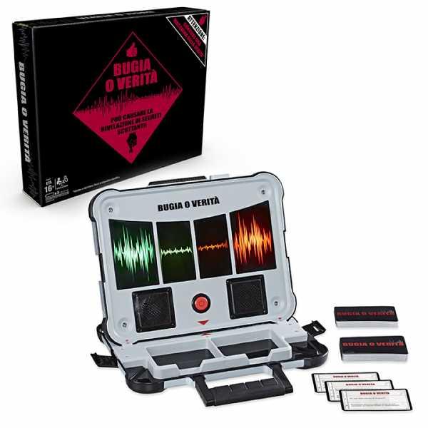 Hasbro Gaming- Gioco Bugia O Verità, Multicolore, E4641103
