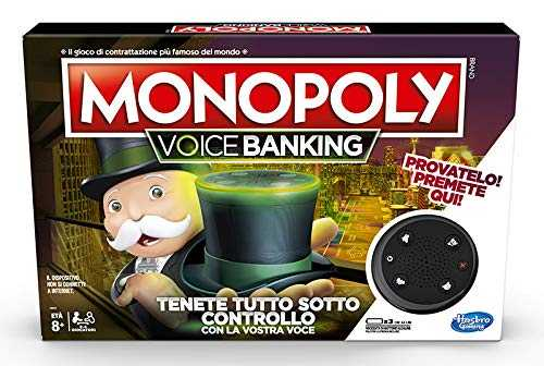 Monopoly - Voice Banking (Gioco In Scatola Elettronico)