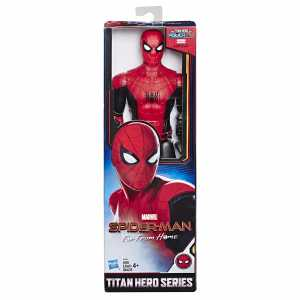 Spider-Man: Far From Home - Titan Hero Power FX, Personaggio 30 Cm Ispirato Al Film, Power FX Non Incluso