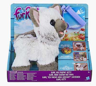 Hasbro FurReal- Kami Peluche Interattivo, Multicolore, C1156EU40
