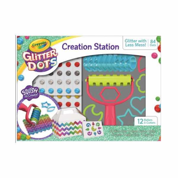GLITTER DOTS GLITTER MODELLABILE CREATION STATION - Binney & Smith (04-0804)