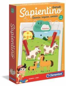 Clementoni-16213-Sapientino Animali, Gioco Educativo, Multicolore, 16213