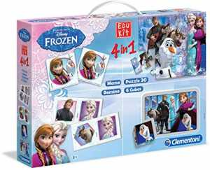 Clementoni Edukit 4 In 1-Disney Frozen 2, Multicolore, 18059