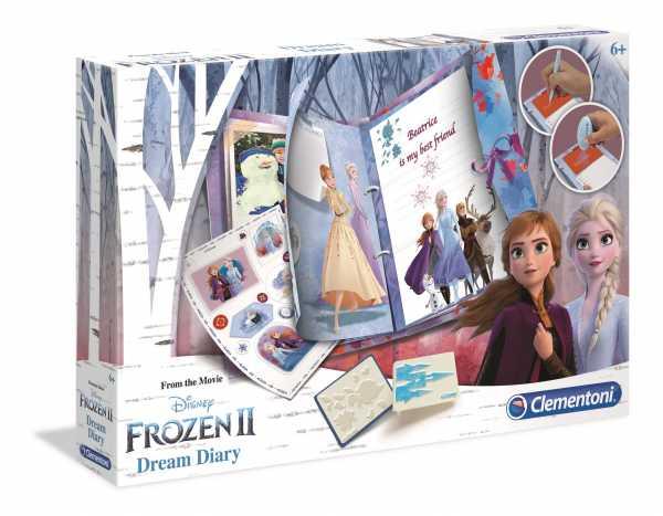 Clementoni- Disney Frozen 2-Dream Diary, Multicolore, 18518