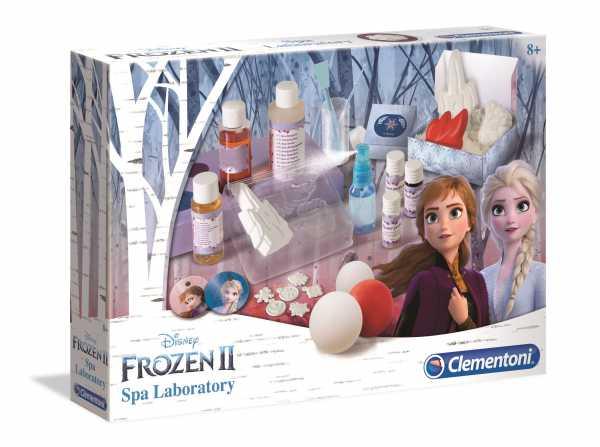 Clementoni- Disney Frozen 2-Spa Lab, Gioco Scientifico, Multicolore, 18523