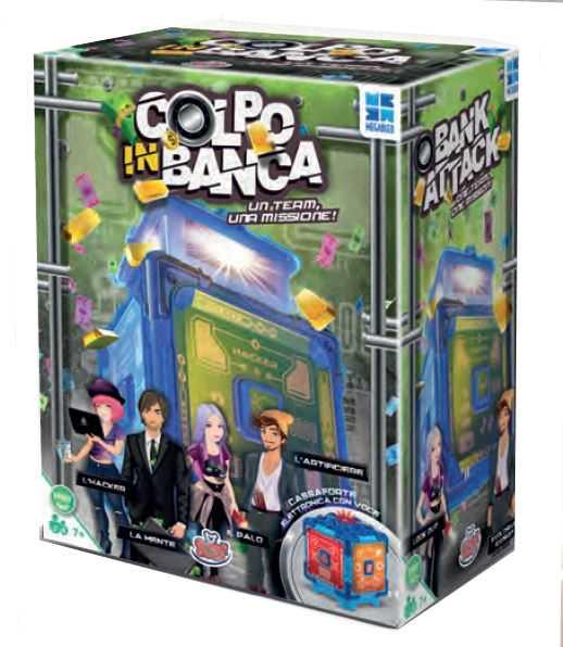 Grandi Giochi MB678574, Colpo In Banca, Multicolore