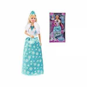 Simba- Steffi Love Magic Ice Princess Con Abito Fluorescente, Multicolore, 105733287