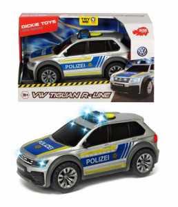 AUTO TIGUAN POLIZEI LUCI E SUONI CM 25 - Simba (203714013038)