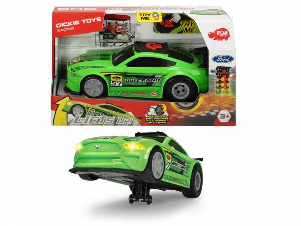 Dickie Ford Mustang-Wheelie Raiders 25.5 Cm, Motorizzato, Luci E Suoni, 203764009