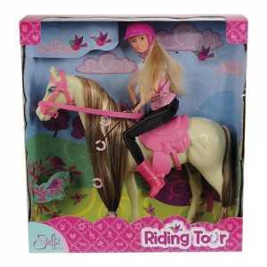 Simba 105730939 - Steffi Love Con Cavallo
