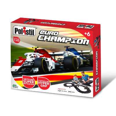 Polistil - Euro Champion Formula One Italia + 1 F1 Livrea Germania Incl, Multicolore, 90526.004