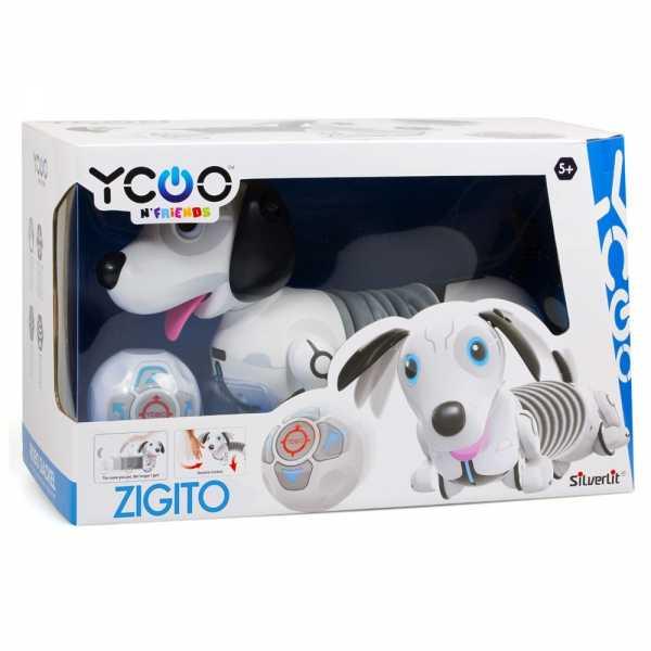 Rocco Giocattoli- Zigito Cane Robot, Multicolore, 88570