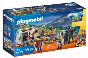 Playmobil The Movie 70073 Charlie Con Carro Prigione, Dai 5 Anni