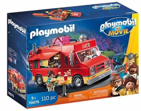 PLAYMOBIL: THE MOVIE 70075 - Food Truck Di Del