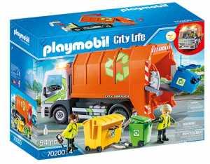 PLAYMOBIL CAR SERVICE CAMION DELLA RACCOLTA DIFFERENZIATA (70200)