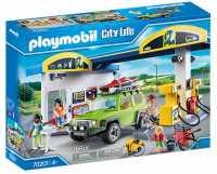 Playmobil City Life 70201, Stazione Di Servizio, Dai 4 Anni