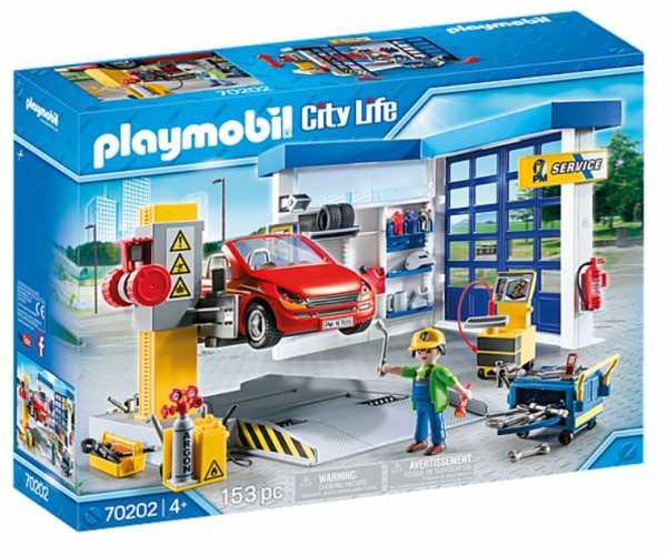 PLAYMOBIL CAR SERVICE OFFICINA DEL MECCANICO (70202)