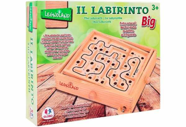 Legnoland- Labirinto In Legno, 28 X 23 Cm, 38156