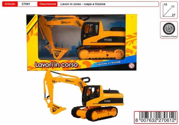 ESCAVATORE LAVORI IN CORSO CM 24 - Toys Garden (27061)