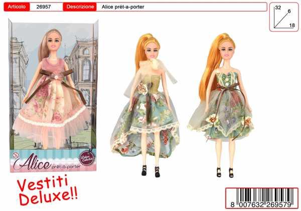 Bambola/e ALICE DELUXE COLLEZIONE FLOREALE CM 30 - Toys Garden (26957)