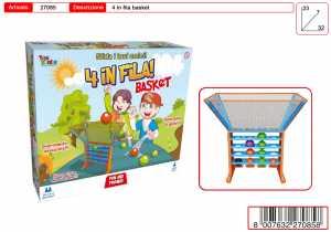GIOCO 4 IN FILA BASKET - Toys Garden (27085)