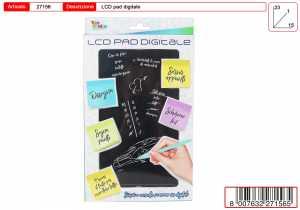 TOYS GARDEN Lavagna Pad LCD Digitale 27156
