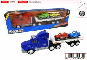 CAMION BISARCA E 2 AUTO FRIZIONE CM 46 - Toys Garden (26972)