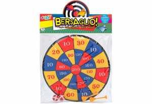 BERSAGLIO STOFFA CM 35 2 PALLINE 2 FRECCE - Globo (39754)