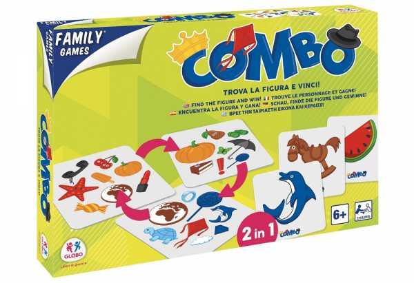 GIOCO CARTE COMBO MEMORY - Globo (40390)