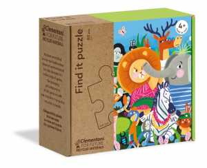 Clementoni-16220-Find It Together, Puzzle Bambini, Multicolore, 16220