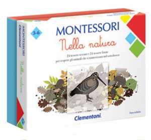 Clementoni Natura-Made In Italy, Gioco Educativo Montessori Bambino Dai 4 Anni, 16247