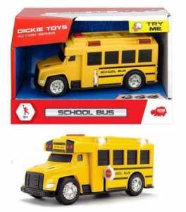 Simba Dickie Action Series Scuola Bus Cm. 15, Luci E Suoni, Try Me Mezzi, Multicolore, 4006333057458
