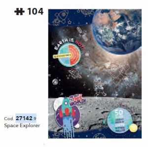 PUZZLE 180 Pezzi NATIONAL GEOGRAPHIC - Clementoni (27142)