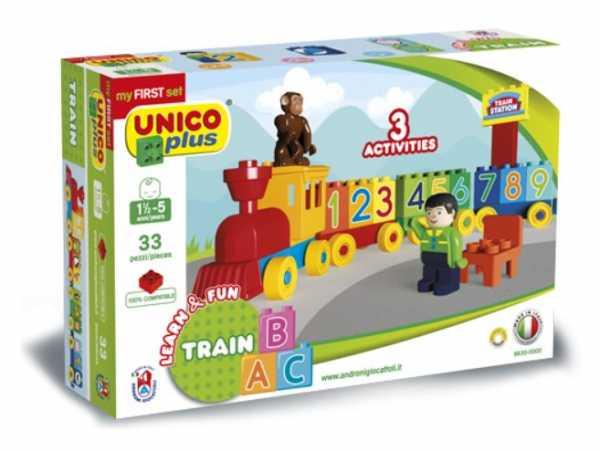 Unico- Trenino ABC Pre School, Colore Nd, 8630-0000