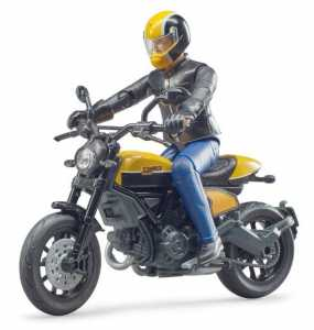 Scrambler Ducati Full Throttle With Rider