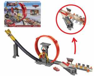 Cars- XRS Playset Pista Rocket Racers Super Loop Giocattolo Per Bambini 4+ Anni, GJW44