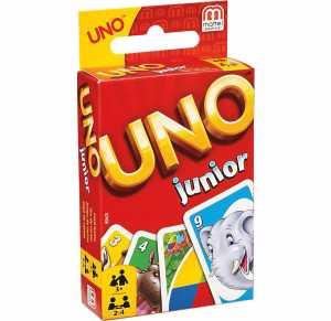 UNO Junior, Gioco Di Carte, Mattel Games, 52456