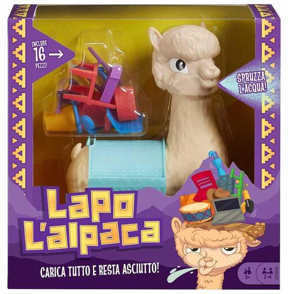 Mattel Games- LAPO L'Alpaca Gioco Di Società, Per Bambini 5+ Anni, GGB43