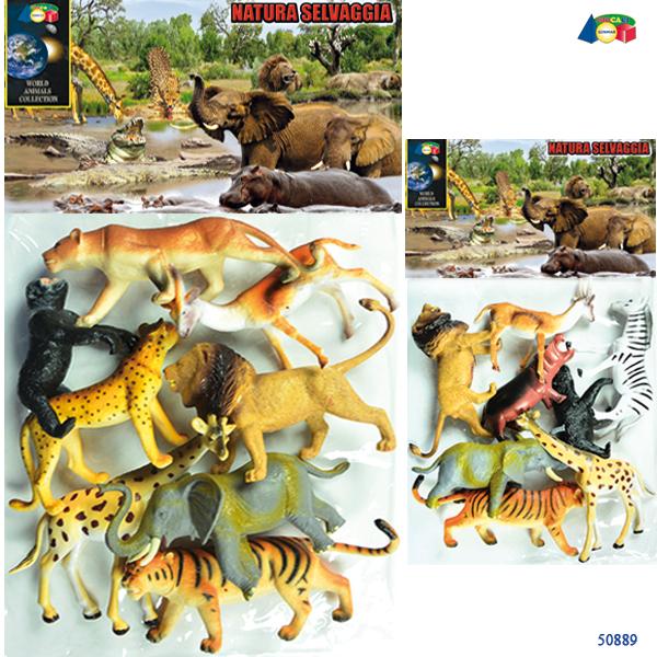 BUSTA ANIMALI GIUNGLA NATURA SELVAGGIA - Ginmar (50889)