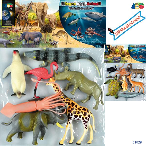 BUSTA ANIMALI CURIOSITA NATURA - Ginmar (51029)