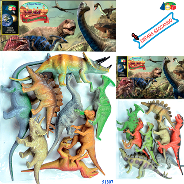 BUSTA ANIMALI DINOSAURI  PREISTORIA - Ginmar (51807)